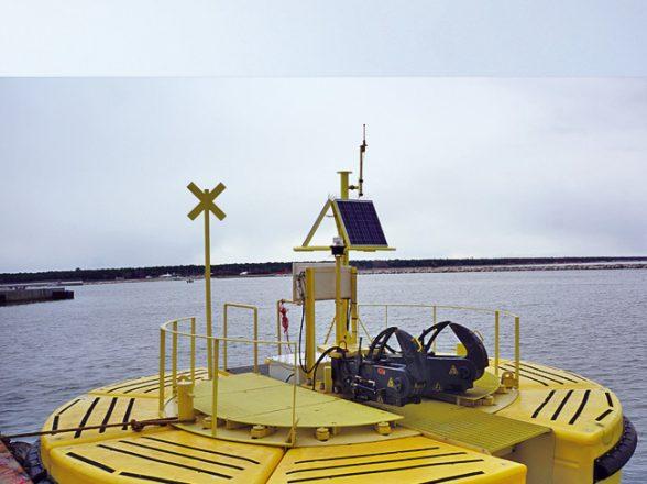 Catamaran Mooring Buoys